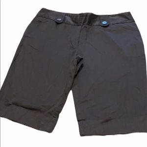 Tracy Evans Limited Brown Bermuda Shorts